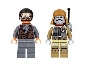 Boneco Bodhi Rook e Pao Star Wars Lego Compatível (Rogue One)