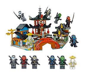 Set compatível Lego Ninjago Templo Airjitzu - 611 Peças