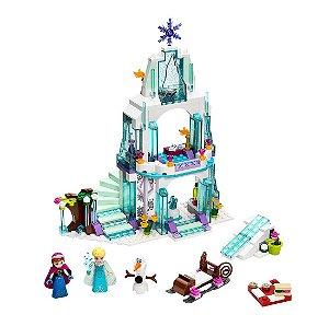 Set Frozen Palácio de Gelo Mágico LEGO compatível (314 Peças)