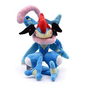 Pelúcia Ash-Greninja Pokémon 33 Cm