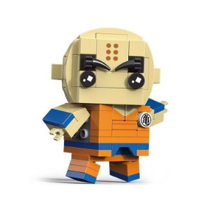 Bloco de montar Brickheadz Kuririn 114 pçs - Dragon Ball Lego Compatível