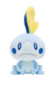 Pelúcia Sobble Pokémon Sword e Shield 23 Cm
