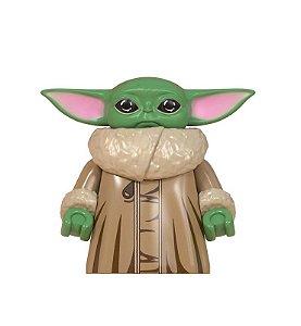Boneco Baby Yoda Star Wars Lego Compatível - O Mandaloriano (Edição Especial)