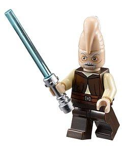 Boneco Ki-Adi-Mundi Star Wars Lego Compatível
