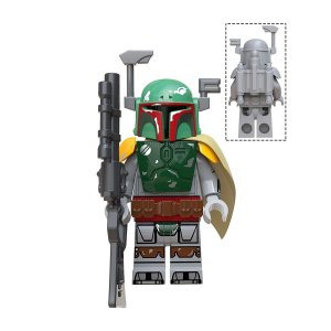 Boneco Boba Fett Star Wars Lego Compatível (Edição Deluxe Mandaloriano)