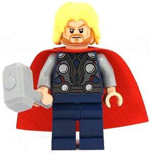 Boneco Thor Lego Compatível - Marvel