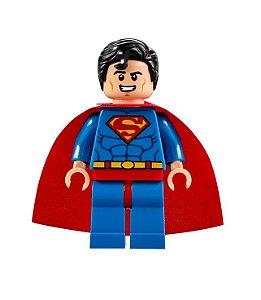 Boneco Superman Lego Compatível - Dc Comics