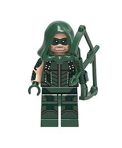 Boneco Arqueiro Verde (Arrow) Lego Compatível - Dc Comics