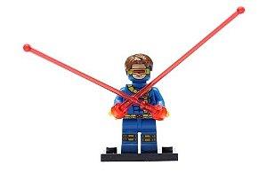 Boneco Ciclope Lego Compatível - X-Men Marvel