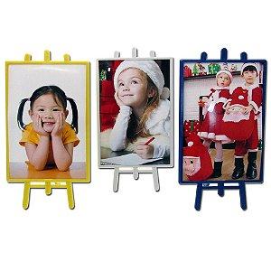 10 - Porta Retrato Cavalete Vertical 10 x 15 cm