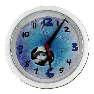 1 - Relógio Redondo 20 x 20 cm