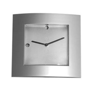 Relógio Quadrado Prata