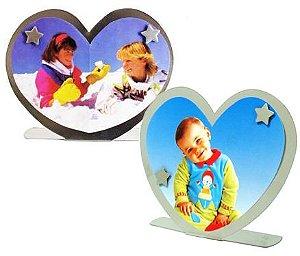 5 Porta retratos coração c/ 2 imãs