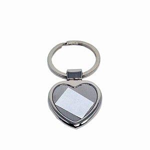 10 - Chaveiro coração luxo com caixa e película