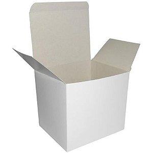 50 - Caixa branca para caneca