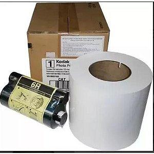 Papel & Ribbon Para Impressora Kodak 605 E 6800 / 6850