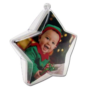10 - Estrela para Arvore de Natal 2 fotos