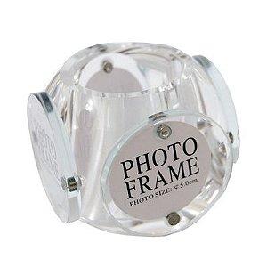 1 - Porta Retrato e objetos em vidro