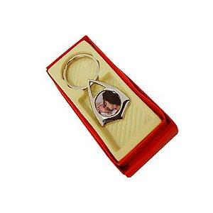 10 - Chaveiro pé de pato com caixa e resina