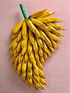 Penca de Banana - Pintada a Mão Artesanal