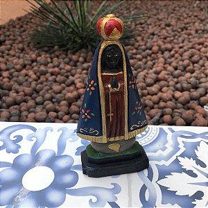 Nossa Senhora Aparecida Pedestal Rustica