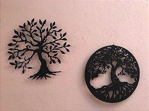 Kit Arvore da Felicidade 30 cm + Mandala Arvore da Vida 30cm