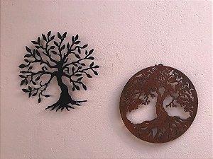 Kit Mandala Arvore Vida + Mandala Arvore Felicidade