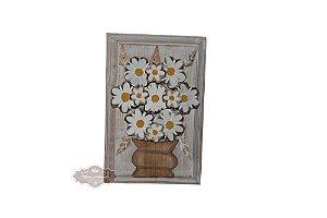 Quadro de Vaso com Flores