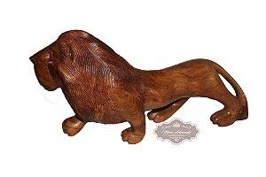 Leão em Pé - Angelim - 70 cm