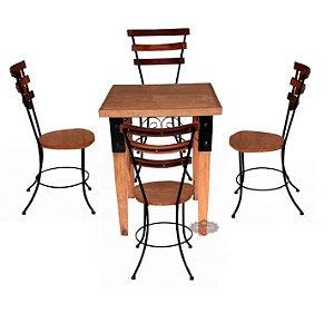 Jogo de Mesa e Cadeiras 3 réguas