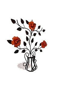 Painel de Árvore com Flores