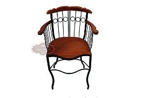 Cadeira Fixa com Apoio de Braço