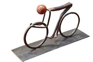 Escultura Ciclista