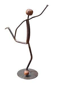 Escultura Jogador