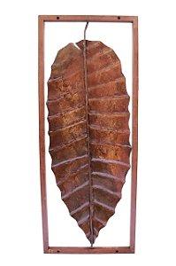 Quadro folha Bananeira