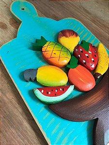 Tábua Frutas - Porta Toalha