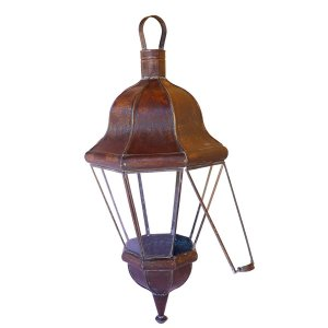 Lamparina Marroquina Em Ferro - Luminária