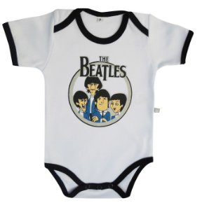 Body Curto Beatles