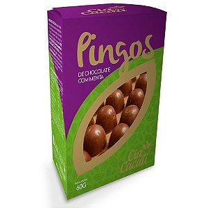 CHOCOLATE LEITE MENTA PINGO 60g
