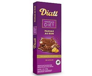 DIATT CHOCOLATE PASSAS AO RUM 25g