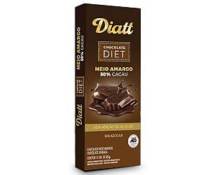 DIATT CHOCOLATE MEIO AMARGO 25g