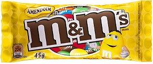 MARS CHOCOLATE M&MS AMENDOIM 49g