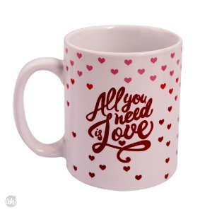 CANECA ALL YOU NEED IS LOVE UATT 300 ml