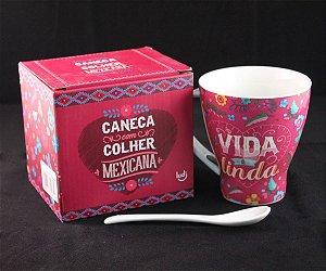 LUDI CANECA COM COLHER MEXICANA 300 ml