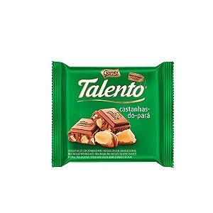 GAROTO TALENTO CHOCOLATE LEITE CASTANHA DO PARA 25g