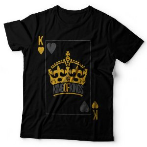 Camiseta Masculina - King of Kings