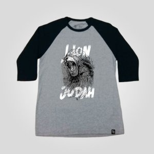 Raglan Masculina - Lion of Judah