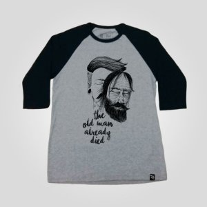 Raglan Masculina - Old Man already died