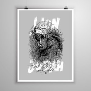 Poster Lion of Judah