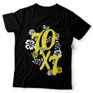 Camiseta Masculina - 70x7 Floral